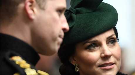 صورة أرشيفية: كاثرين دوقة كامبريدج وزوجها الأمير ويليام دوق كامبريدج
