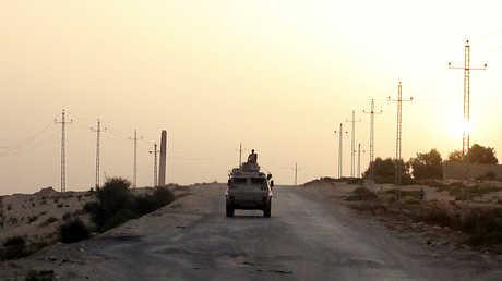 عناصر الجيش المصري في شمال سيناء - صورة أرشيفية