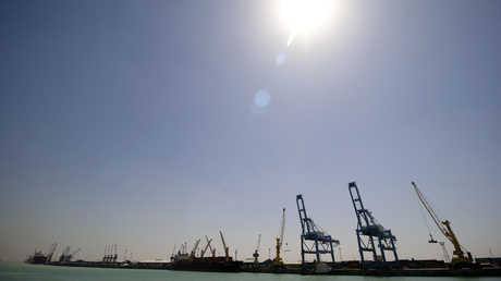 ميناء أم قصر في العراق