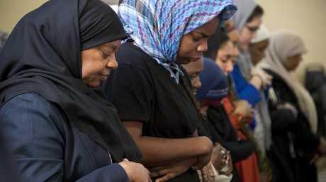 مسلمات بمسجد في واشنطن (صورة من الأرشيف)