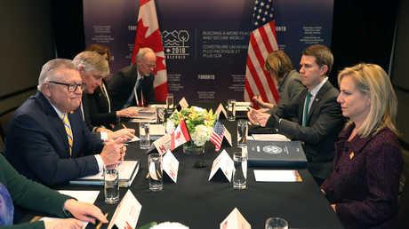 اجتماع وزراء خارجية مجموعة السبع الكبار، تورونتو، كندا