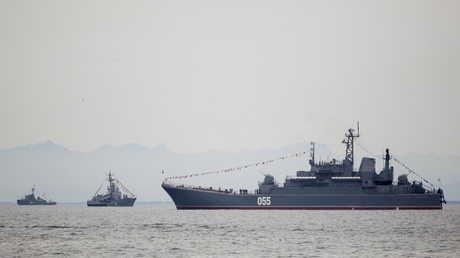 سفن عسكرية روسية - أرشيف
