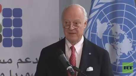 دي ميستورا: التصعيد يعرقل حل أزمة سوريا