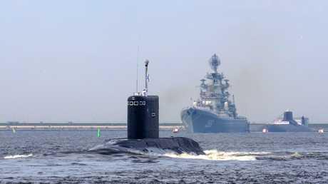 قطع من البحرية الروسية - أرشيف