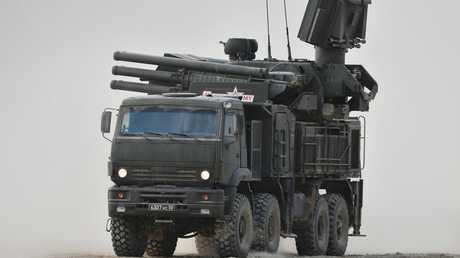 منظومة صاروخية مدفعية من طراز