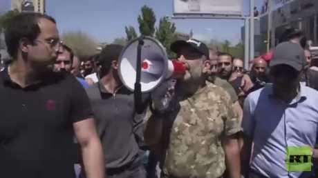 المعارضة تستأنف تظاهراتها في أرمينيا