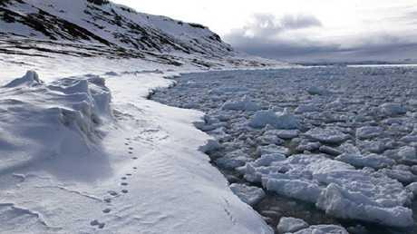 تضاعف سرعة ذوبان الجليد في القطب الشمالي