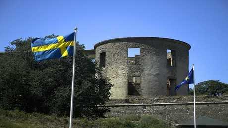 جزيرة ايلاند السويدية التي عثر فيها على المقبرة القديمة
