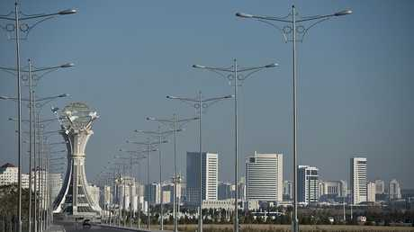 عاصمة تركمانستان، مدينة عشق آباد