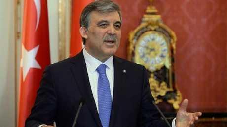 الرئيس التركي السابق عبد الله غل - أرشيف