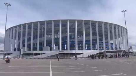 ملعب نيجني نوفغورود يستعد للمونديال