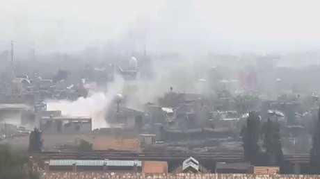 جنوب دمشق.. مفاوضات على وقع المعارك