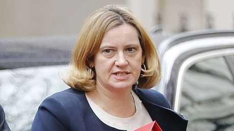 وزيرة الداخلية البريطانية، آمبر رود