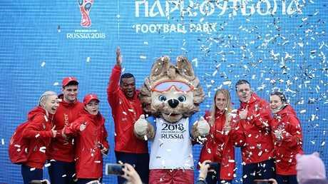 افتتاح حديقة كأس العالم في يكاتيرينبورغ