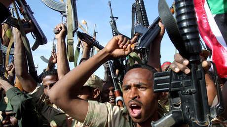جنود سودانيون- أرشيف