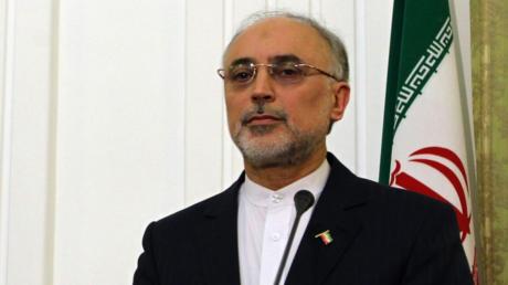 رئيس منظمة الطاقة النووية الإيرانية علي أكبر صالحي
