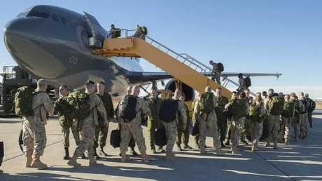 جنود تابعون للتحالف الدولي في العراق - أرشيف