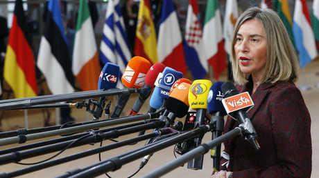المفوضة العليا للشؤون الخارجية في الاتحاد الأوروبي، فيديريكا موغيريني