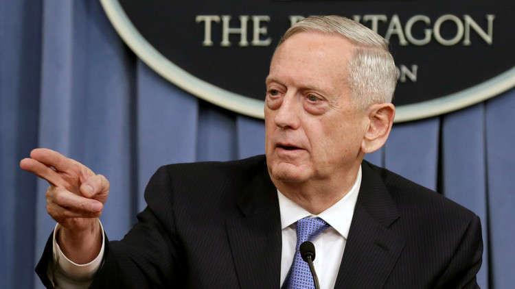 ماتيس: أكثر من 400 داعشي أجنبي في قبضة