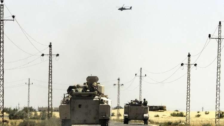 حشود عسكرية مصرية على حدود غزة وإسرائيل