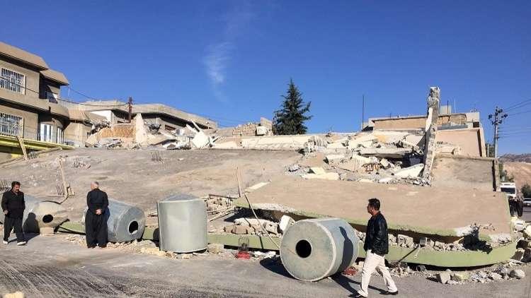 عشرات الإصابات في زلزال جنوب غرب إيران