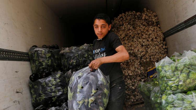 العراق يمنع استيراد خمسة أصناف من الخضراوات