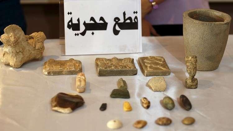 الولايات المتحدة تعيد آلاف القطع الأثرية إلى العراق