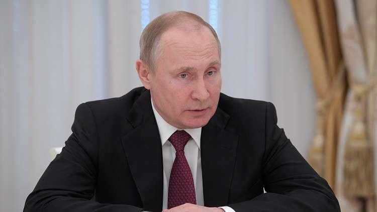 بوتين يوقع مرسوما بفصل 5 جنرالات في الداخلية ولجنة التحقيق