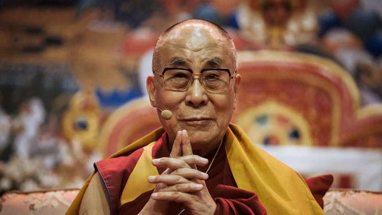 الزعيم الديني الأعلى للبوذيين في التبت، دالاي لاما الـ14، أرشيف