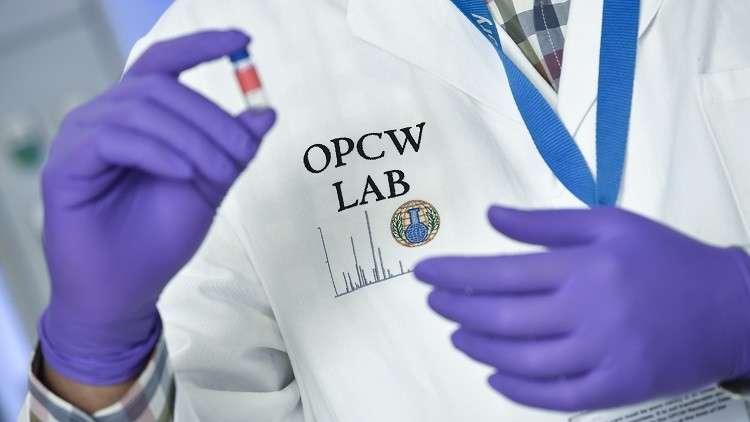 منظمة حظر الكيميائي: تحليل العينات من دوما السورية سيستغرق 3 أو 4 أسابيع