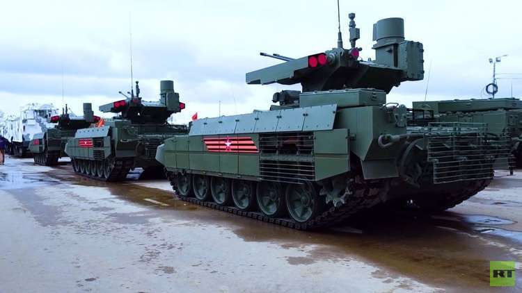 أسلحة روسية جديدة في استعراض عيد النصر