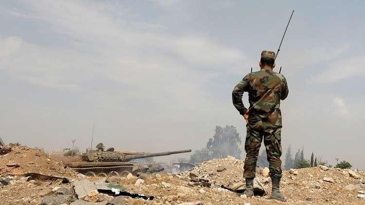 سوريا..المسلحون بريفحمص يحرقون ويدمرون كافة المقرات قبل تسليم الأسلحة الثقيلة
