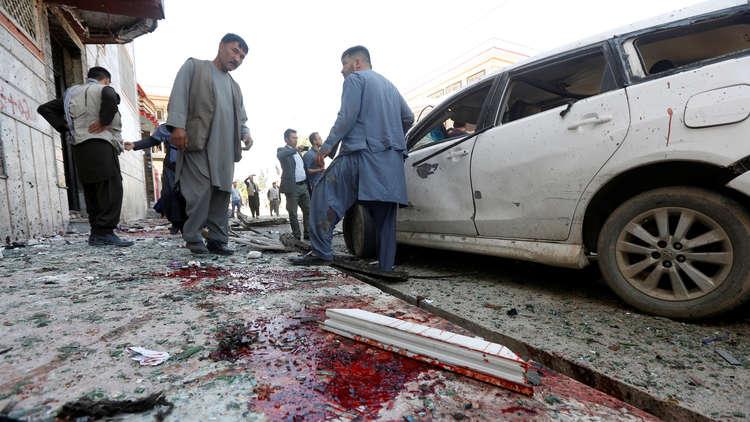 17 قتيلا في انفجار بمسجد شرق أفغانستان