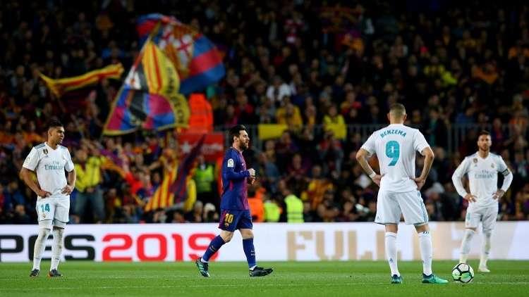 شاهد..  برشلونة يخرج بتعادل بطعم الفوز من الكلاسيكو