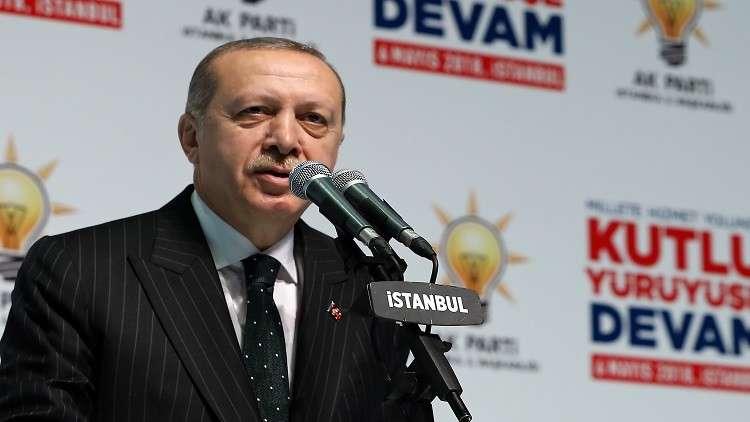 أردوغان: مصير البشرية يحدد في فلسطين
