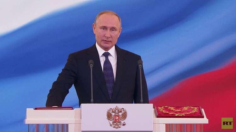 بوتين رئيسا لروسيا لولاية رابعة