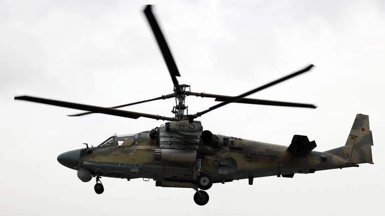 الدفاع الروسية: تحطم مروحية عسكرية روسية شرق سوريا ومقتل طياريها