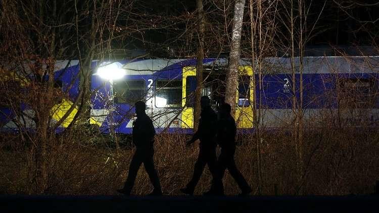 قتيلان و14 جريحا بتصادم قطارين في ألمانيا