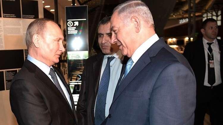 نتنياهو ذاهب ليطلب من بوتين السماح بقصف سوريا