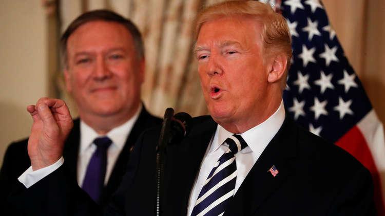 مصادر: بومبيو أبلغ نظراءه الأوروبيين بعزم ترامب الانسحاب من الاتفاق النووي مع إيران