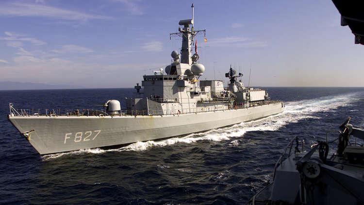 الجيش الوطني الليبي يعترض سفينة للناتو قبالة درنة