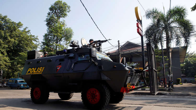 قتلى باشتباكات بين الشرطة والسجناء في إندونيسيا