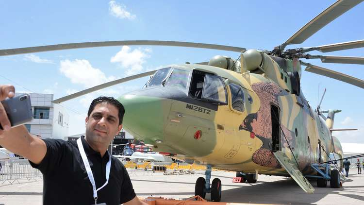 روسيا تدرب طيارين أردنيين على قيادة مروحية