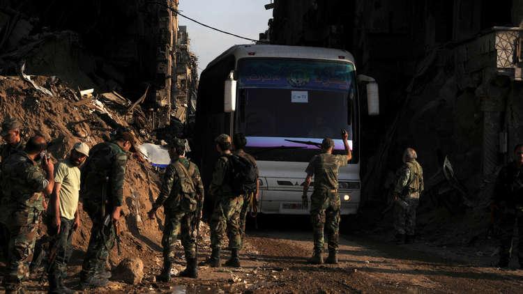 الدفاع الروسية: إخراج المسلحين من اليرموك على وشك الانتهاء