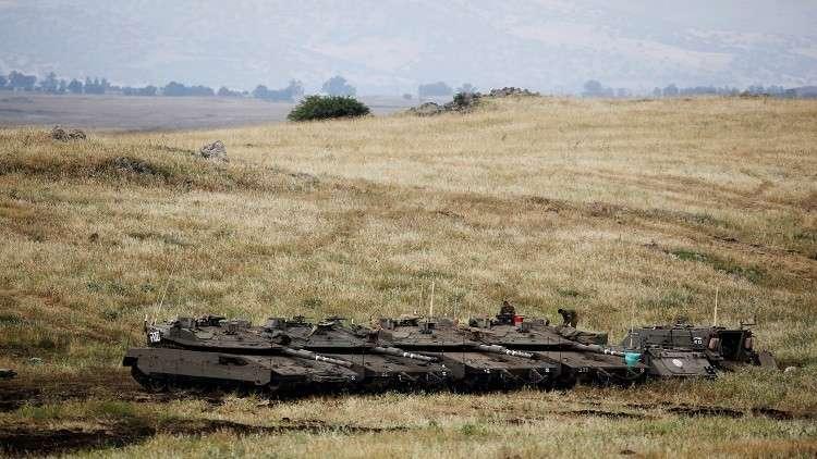 سقوط عشرات الصواريخ على الجولان المحتل وإسرائيل تقول إنها تتعرض لهجوم