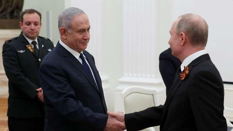 نتنياهو يستبعد تدخل موسكو لوقف الضربات الإسرائيلية على سوريا