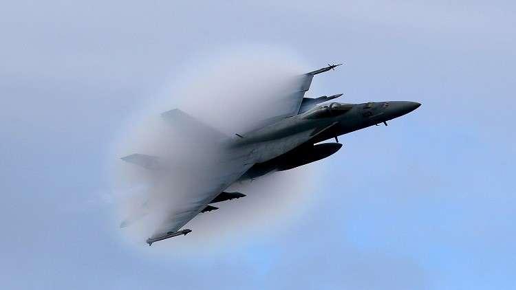 اختناق طيار مقاتلة أمريكية فوق سوريا