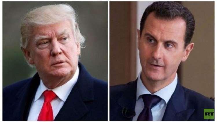 الأسد يرد على إهانة ترامب