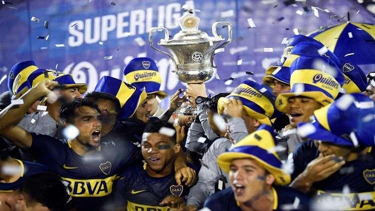بوكا جونيورز يحرز لقب الدوري الأرجنتيني للمرة الـ33 في تاريخه