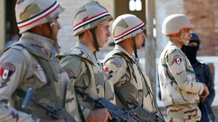 الجيش المصري يعلن تصفية 21 إرهابيا